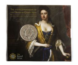 2014 £5 Royal Mint Brilliant Uncirculated pack for sale